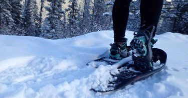 snowshoeing - winter sports