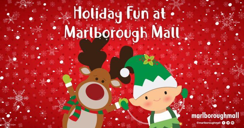 holiday fun at Marlborough Mall